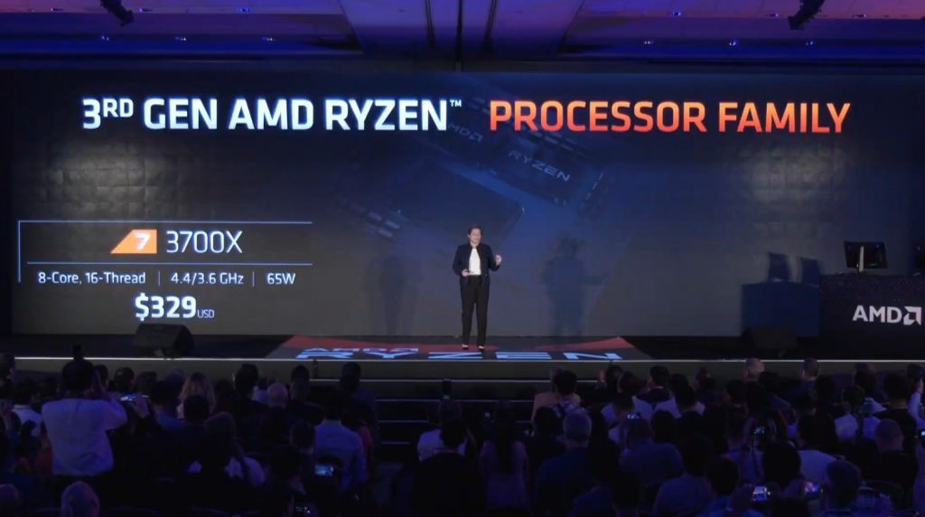 Ryzen -3- 3000 3600X 3700X 3800X 7nm Zen2 Computex 2019 historica conferencia Lisa Su AMD in4 noticias granada