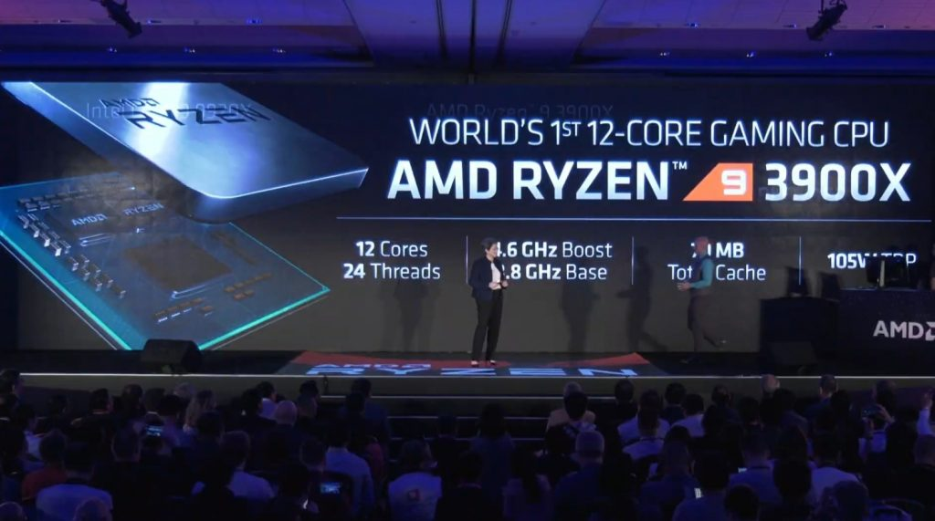 Ryzen -4- 3000 3600X 3700X 3800X 7nm Zen2 Computex 2019 historica conferencia Lisa Su AMD in4 noticias granada