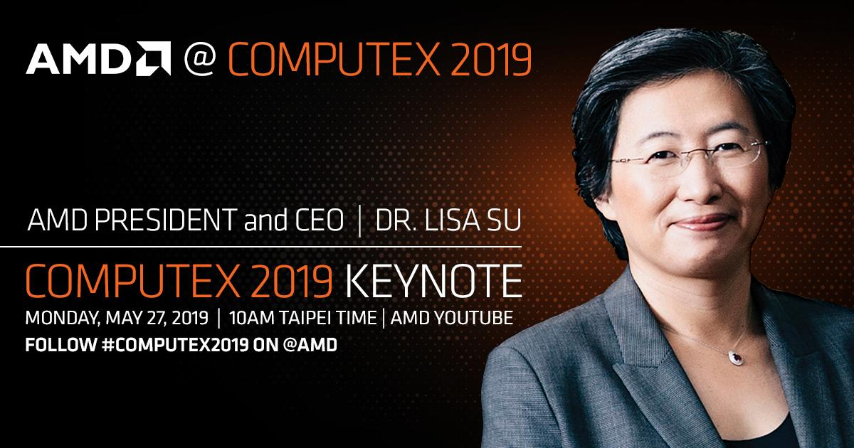 Ryzen 3000 7nm Zen2 Computex 2019 historica conferencia Lisa Su AMD in4 noticias granada
